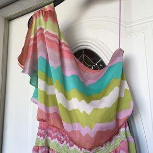 Jessica Simpson Dresses - Jessica Simpson One Shoulder Dress Sz 12